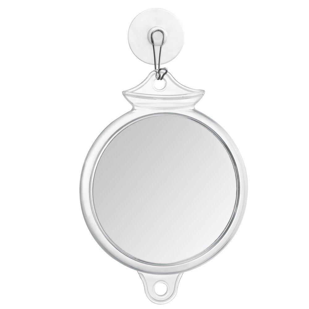 Amazon.com: InterDesign Suction Fog Free Shower Shaving Mirror for ...