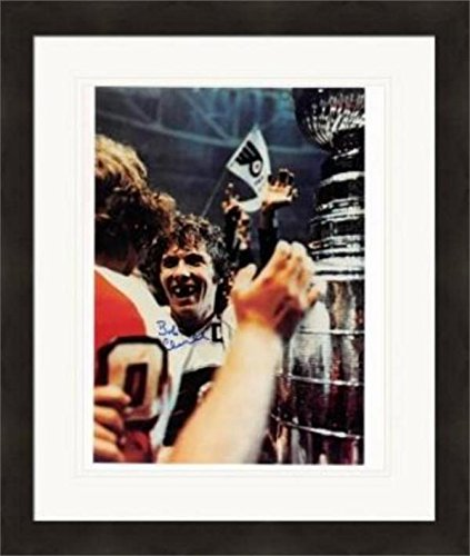 Signed Bobby Clarke Photo - 8x10 Stanley Cup #1 Matted & Framed - Autographed NHL Photos ()