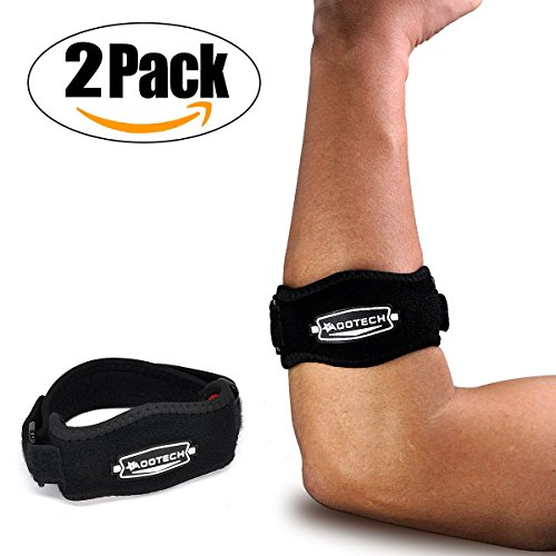 2 Pack Tennis Elbow Brace, Best for Golfers Tendonitis Pain Relief