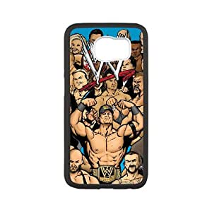 SamSung Galaxy S6 Phone Case for WWE Wrestlemania Classic Theme pattern design GWWECT949947