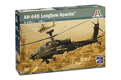 タミヤ イタレリ 1/48 ヘリコプターシリーズ No.2748 AH-64D ロングボウ アパッチ プラモデル 38748