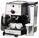 NEW Gaggia EspressoWorks Coffee and Espresso Machine for Lattes and Cappuccinos with Programmable Options