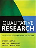 Qualitative Research 1st Edition