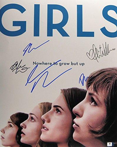 Dunham/Williams/Kirke/Mamat/Driver Signed Autographed 16X20 Photo Girls GV838759