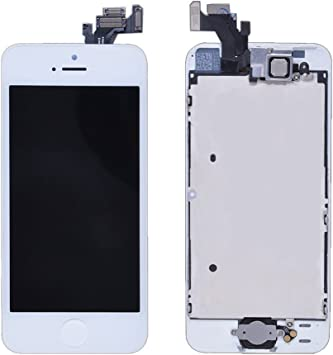 LL TRADER For iPhone 5 LCD White Full Display Assembly Touch ...
