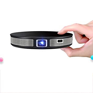 LHJCN Mini Proyector, Proyector Portatil WiFi, LED Android con ...