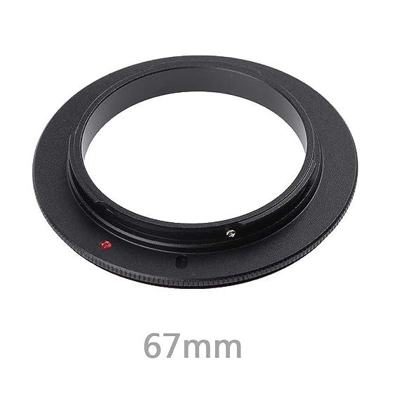 Lente Adaptador Anillo Inversa de macro 55 mm para Cámara Canon Eos 60D//70D//1D