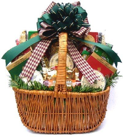 Gift Basket Village Holiday Cheese and Sausage Gift Basket, XL