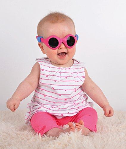 2c17fe406581ca Pyke - BabyPyke - Lunettes de soleil - 3 à 36 mois - Mixte Fille   Garçon -  Bleu clair  Amazon.fr  Vêtements et accessoires