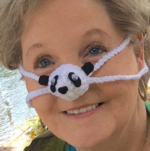 2f85f08af4cec Amazon.com  Panda Nose Warmer by Aunt Marty s Original Nose Warmers ...
