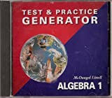 McDougal Littell Algebra 1, MCDOUGAL LITTEL, 0618353348