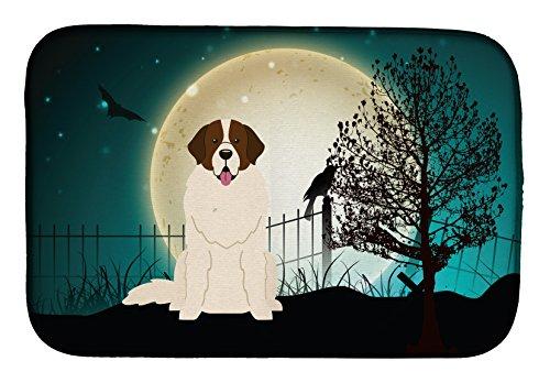 Caroline's Treasures BB2217DDM Halloween Scary Moscow Watchdog Dish Drying Mat, 14