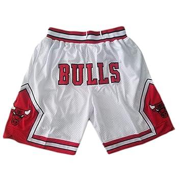 Pantalones De Baloncesto Bulls Pantalones Cortos De Baloncesto ...