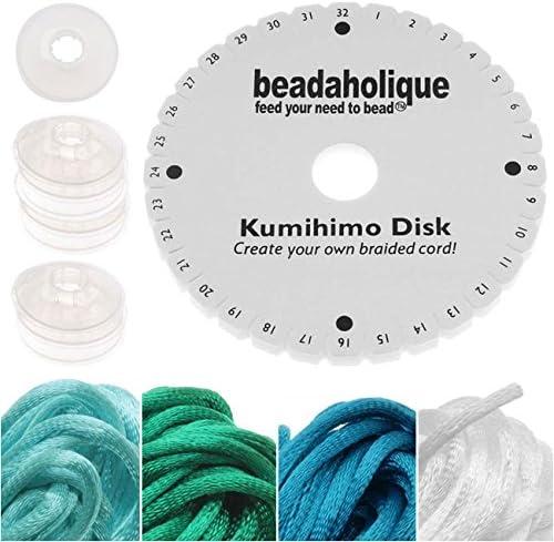White 25 m Beadalon DanyLine 0.30 mm Braided Beading Thread 0.012 82 ft