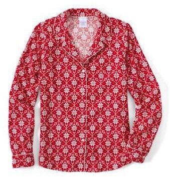 newest 9e995 9910d Lands' End Damen Schlafanzug-Set - Gemusterte Flanell-Pyjama ...