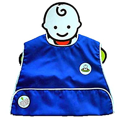 Neatnik Saucer Slide Bib in Royal Blue : Baby Toys : Baby
