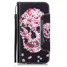 iPhone 6/6S Case, iPhone 6/6S Case Wallet,Kmety Premium PU Leather Flip Carrying Magnetic Closure Protective Shell Wallet Case Cover for iPhone 6/6S with Kickstand Stand