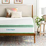 LINENSPA 10 Inch Latex Hybrid Mattress - Supportive - Responsive Feel - Medium Firm - Temperature...