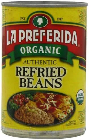 Beans: La Preferida Organic Refried Beans