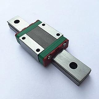 TEN-HIGH Linear Rail, 1pcs CNC Parts MR7 MGN7 Miniature Linear Guide Rail Way Slide 40mm+1pcs MGN7C Slider Miniature…