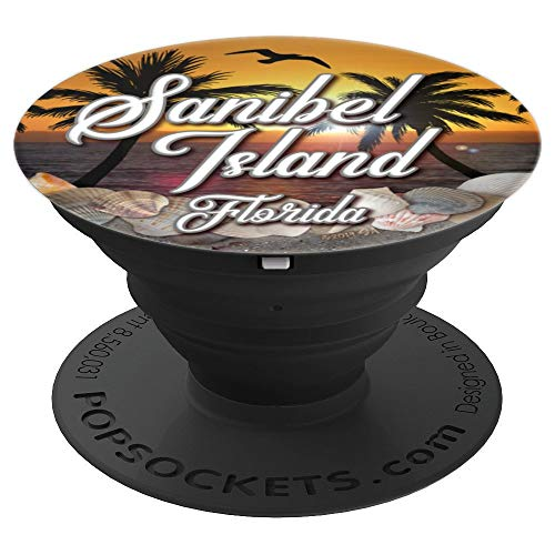 Sanibel Island Florida Shelling Seas Shells - PopSockets Grip and Stand for Phones and Tablets