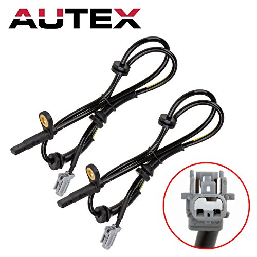 AUTEX 2PCS ABS Wheel Speed Sensor Front Left & Right ALS1658 compatible with 2008-2010 Nissan Rogue 2.5L/2008 2011 2012 Nissan X-Trail - 2012 Abs Sensor