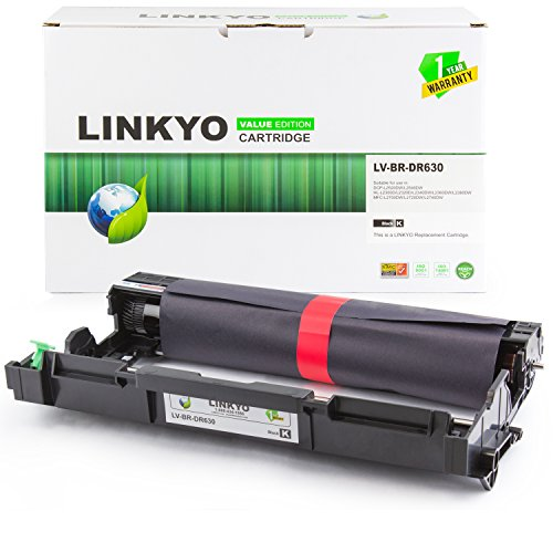 LINKYO Valueline Replacement Brother DR630 DR-630 Drum Unit for HL-L2320D HL-L2360DW HL-L2380DW MFC-L2700DW Black Drum Unit Cartridge