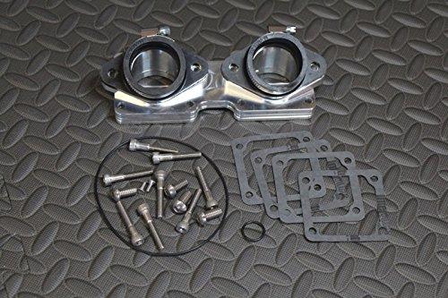 ntakes manifold & boots 36 38 40 41mm intake 1987-2006 (Billet Aluminum Intake Manifold)