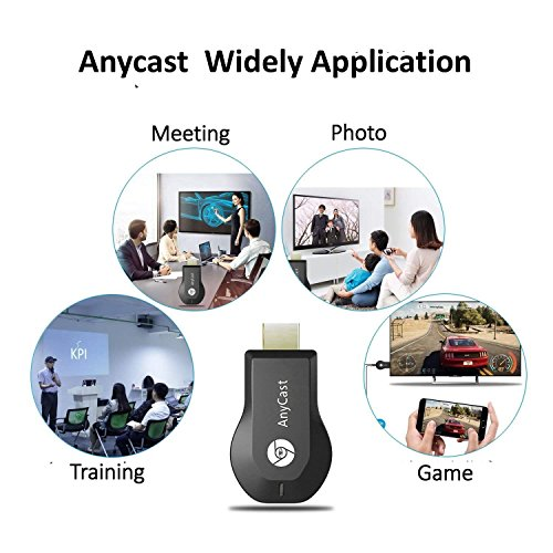 Yeemeng Anycast M100 2 4G 4K Miracast Any Cast Wireless DLNA AirPlay HDMI  TV Stick WiFi Display Dongle Receiver for iOS Android PC
