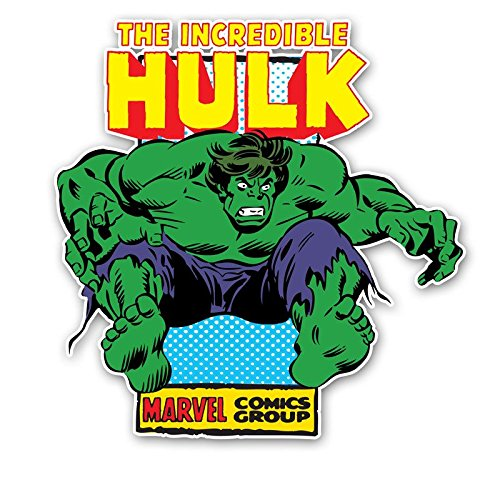 - Silver Buffalo MC6836 Marvel Hulk Unleashed Die Cut Wood Wall Art, 12