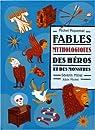 Fables mythologiques : Des héros et des monstres par Piquemal