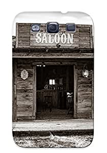 Galaxy S3 Case - Tpu Case Protective For Galaxy S3- Old Western Saloon Case For Thanksgiving's Gift
