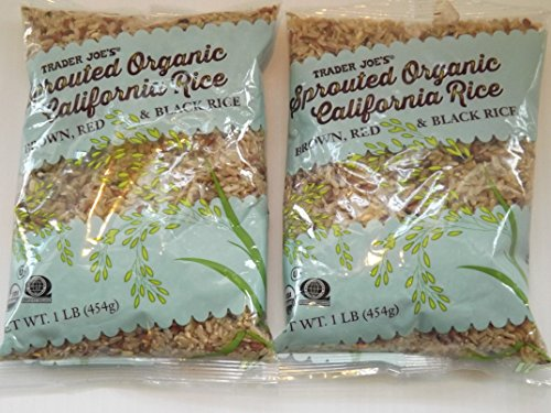 Trader Joes Sprouted Organic California Rice 2 Pack by trader Joe
