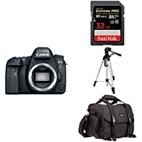 Canon EOS 6D Mark II Digital SLR Camera Body + Free Accessory Bundle