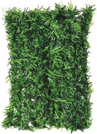 Setos sintética cobertura postizas jardín con 2 hojas x 3 mt Papillon: Amazon.es: Hogar