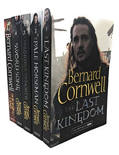 Bernard Cornwell Warrior Chronicles, The Last Kingdom Series 1 Books Set Collection Pack (The Lord of the North, Sword Song, The Last Kingdom, The Burning Land, The Pale Horseman) (Book 1 To 5)