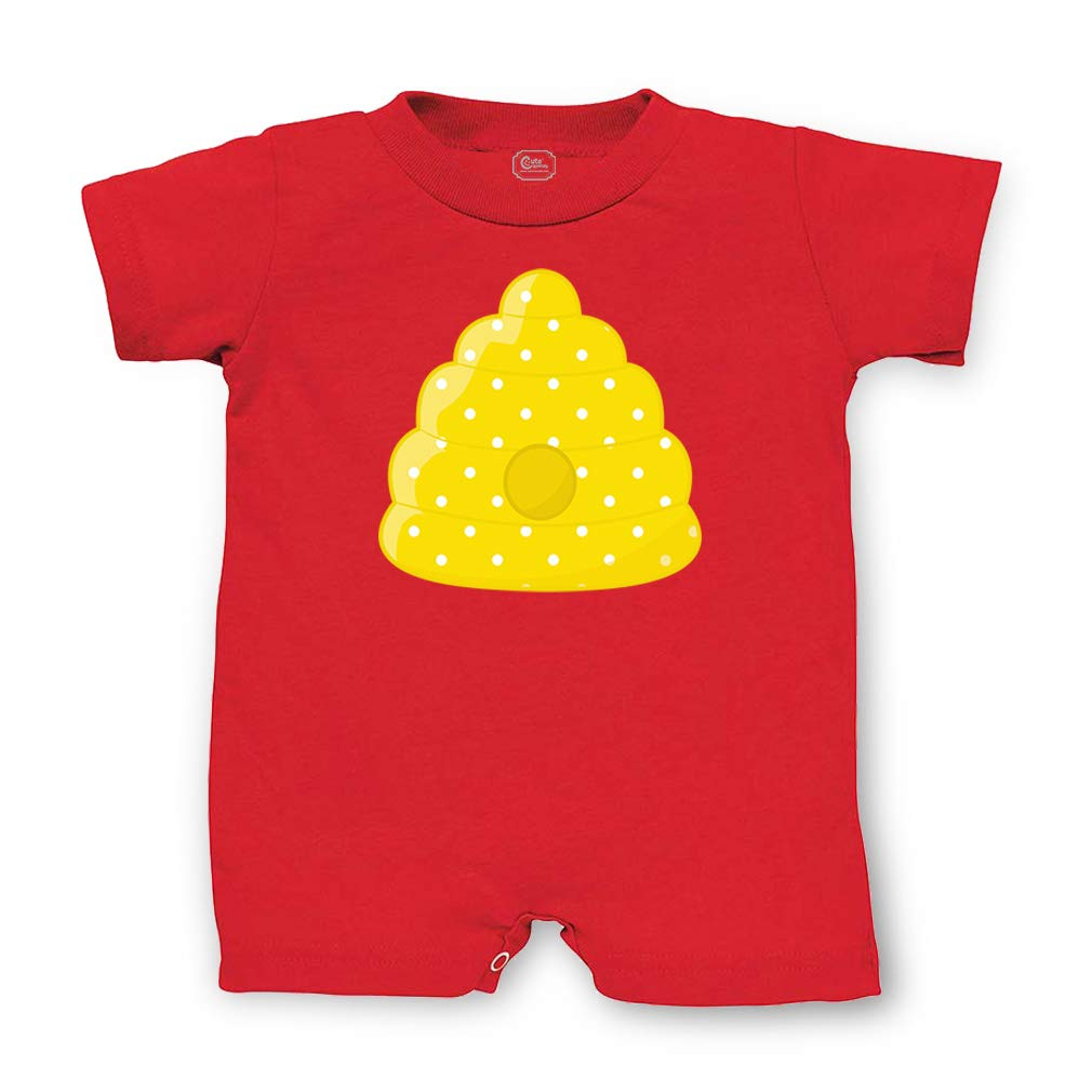 Baby Girl Little Lass Jersey Romper Yellow Pineapple 12 Months Fine Quality Baby & Toddler Clothing