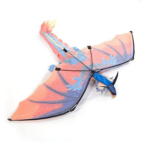 Awesomes 3D Flying Dragon Kite Single Line Animal Kites Good Toys For Kids And Adults