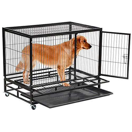 Heavy Duty Durable Iron Constructed Non Toxic Rust And Corrison Free Dog And Cat Or Animal Cage Feat For Homes And Pet Stores Used For Indoor And Outdoor (Cushions For Outdoor Furniture Brisbane)