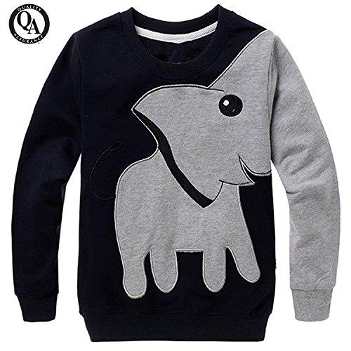 2 Black Toddler Sweatshirt - 2