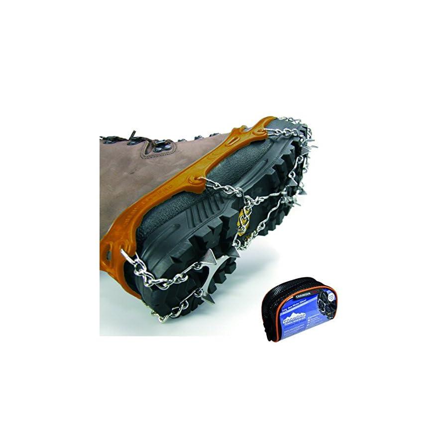 Snowline stud Spikes Chainsen Pro S orange