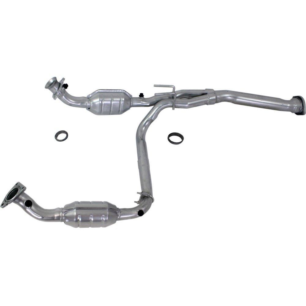 Catalytic Converter for 2010-2014 GMC Terrain Chevy Equinox Captiva 2.4L 4-Door SUV Direct-Fit Stainless Steel High Flow Cat EPA Compliant