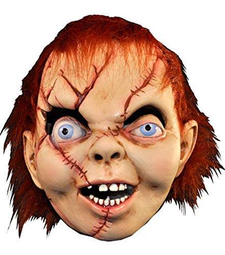 Loftus International Child's Play The Bride of Chucky: Chucky Latex Mask Novelty -