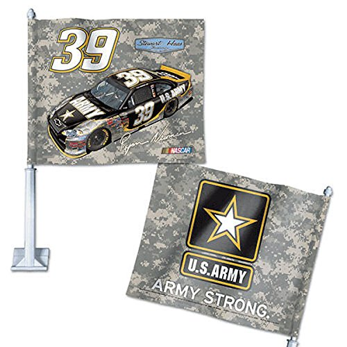 (WinCraft Ryan Newman Car and NASCAR Auto Flag)