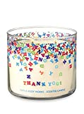 Bath & Body Works 3-Wick Scented Thank You! Candle in Champagne Toast
