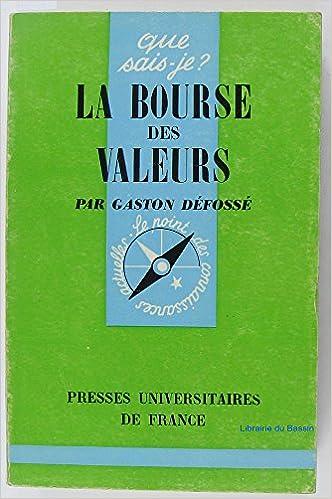 Téléchargement gratuit de livres électroniques pour téléphones mobiles La bourse des valeurs B01COHHD1K PDF DJVU