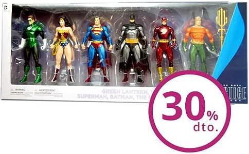 Pack 6 figuras Justice League Action Alex Ross 17-18cm: Amazon.es: Juguetes y juegos