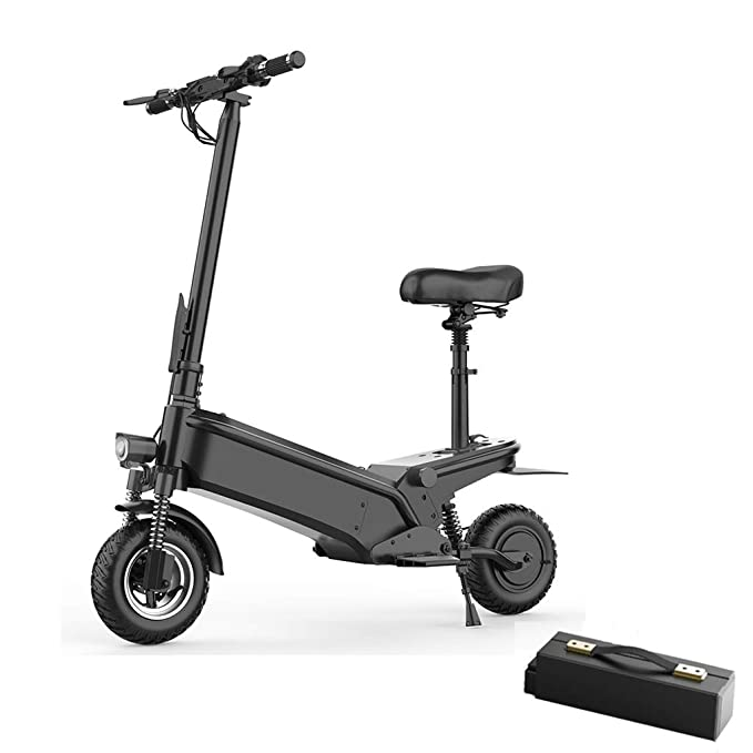 Scooter electrico-Patinete electrico Adulto, 48V 10Ah, 55km ...