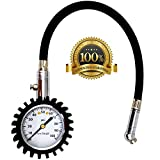 AutoCarePeople Tire Pressure Gauge - heavy duty tire pressure gauge For Your Car and Motorcycle -100 PSI