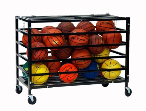 Champion Sports All Pro Ball Locker (Black)